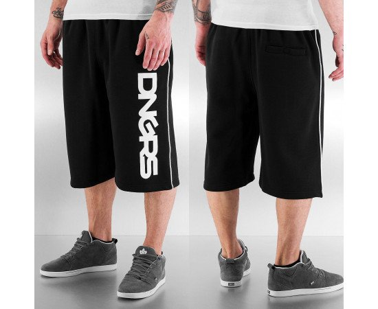 Kraťasy Dangerous DNGRS Logo Sweat Shorts Black/white