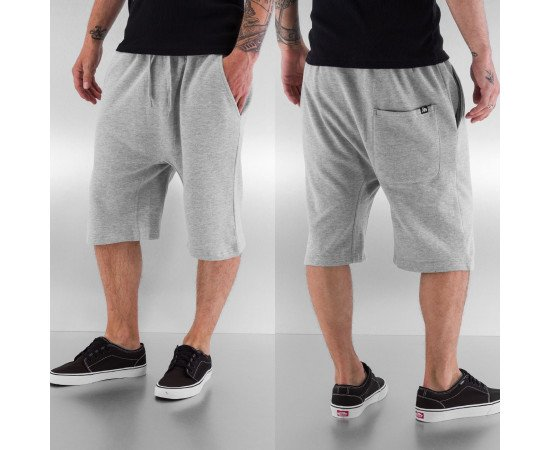Kraťasy Dangerous DNGRS Smoff Sweat Shorts Grey Melange