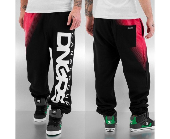 Tepláky Dangerous DNGRS Big Logo Sweat Pants Black