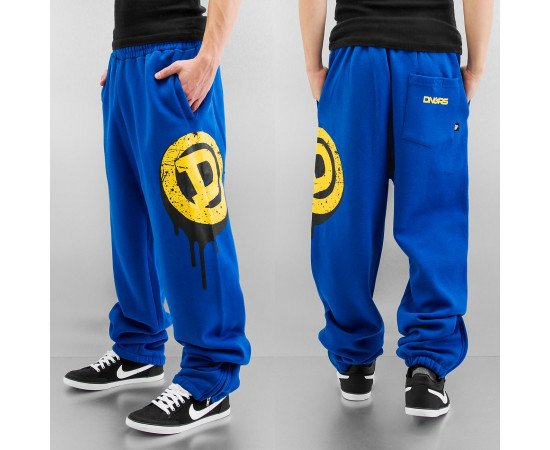 Tepláky Dangerous DNGRS Dakar Sweat Pants Nautical Blue/yellow