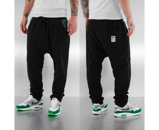 Tepláky Dangerous DNGRS Weed Sweat Pants Black