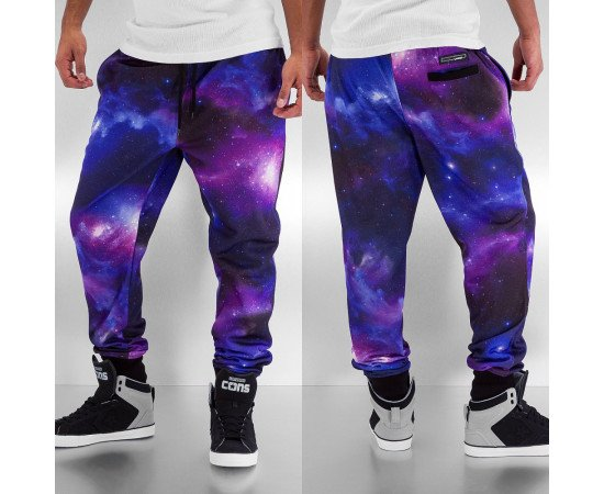 DANGEROUS DNGRS GALAXY SWEAT PANTS PURPLE