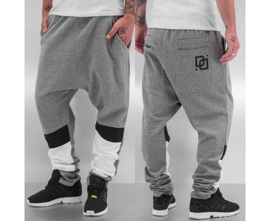 Tepláky Dangerous DNGRS Sweat Pants Grey Melange