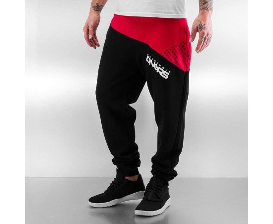 Tepláky Dangerous DNGRS Taro Sweatpants Black/red