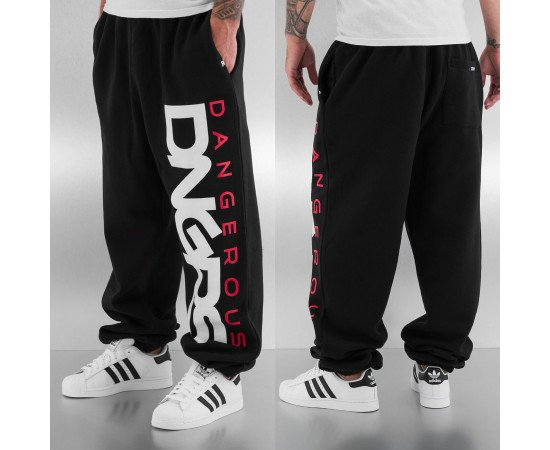 Dangerous DNGRS Classic Sweat Pants Black