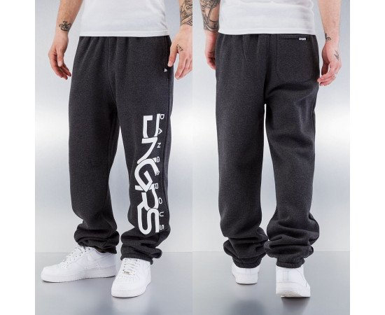 Dangerous DNGRS Classic Sweat Pants Charcoal
