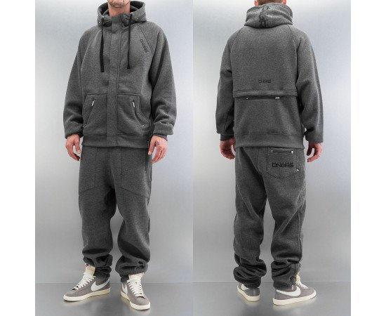 Tepláky Dangerous DNGRS Rock Sweat Suit Charcoal Melange
