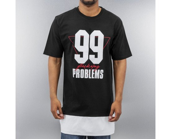 Tričko Dangerous DNGRS 99 Problems PU T-Shirt Black
