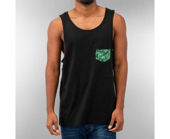 DANGEROUS DNGRS HEMP TANK TOP BLACK