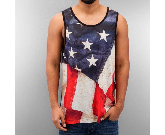 Dangerous DNGRS USA Flag Tanktop Black