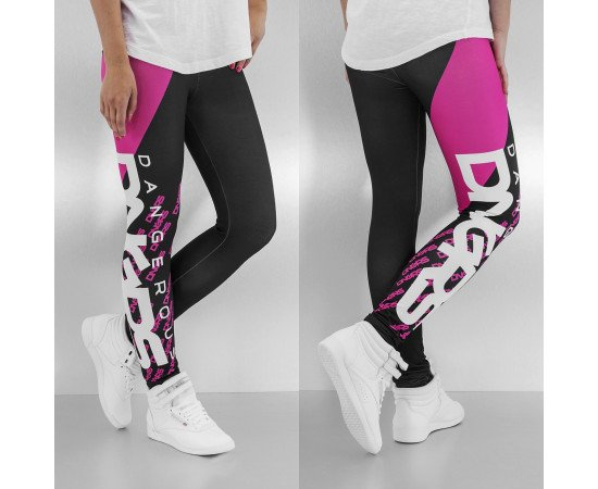 Legíny Dangerous DNGRS Classic Leggings Black