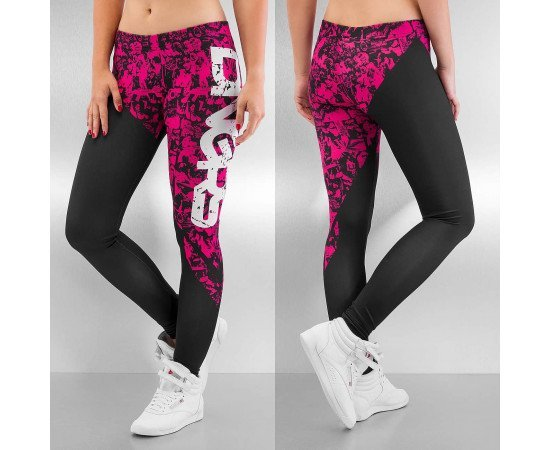 Dangerous DNGRS Girls And Guns Leggings Black