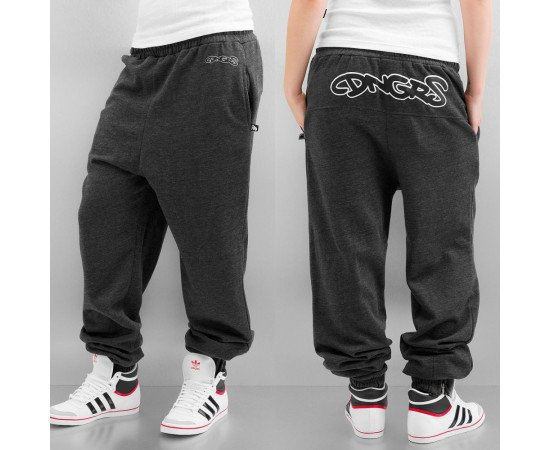 Tepláky Dangerous DNGRS Graffiti Ladies Sweat Pants Dark Heather/black