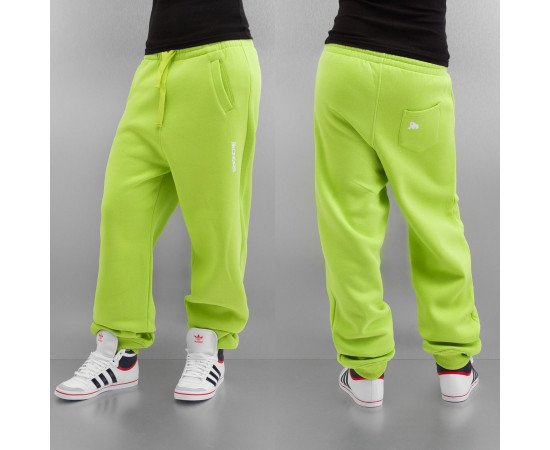 Tepláky Dangerous DNGRS Basic Sweat Pants Lime Green