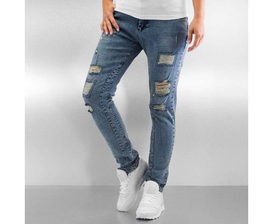 Jeans Just Rhyse Rosa Boyfriend Blue