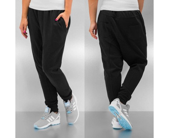 Tepláky Just Rhyse Basic Anti Fit Black