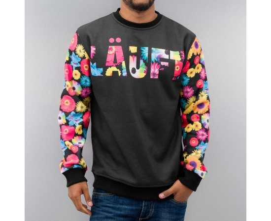 Just Rhyse Läuft Sweatshirt Black