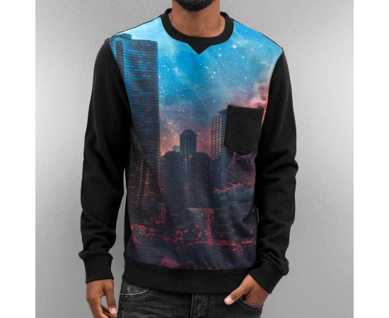 Crewneck Just Rhyse City Sweatshirt Black