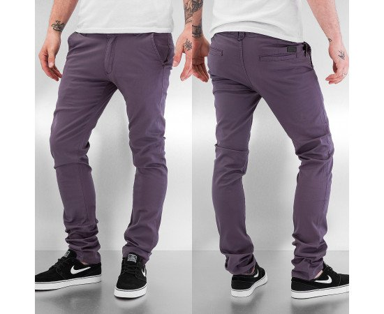 Nohavice Just Rhyse Basic 2.0 Chino Pants Dark Grey