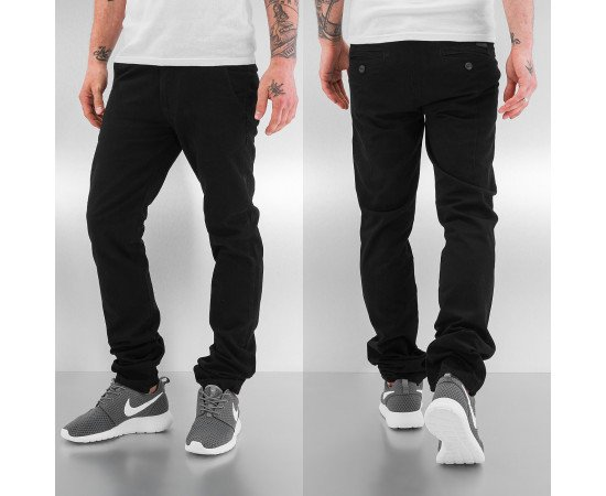 Nohavice Just Rhyse Basic II Chino Pants Black