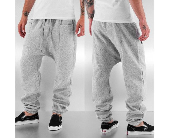 Tepláky Just Rhyse Gun Sweat Pants Grey Melange