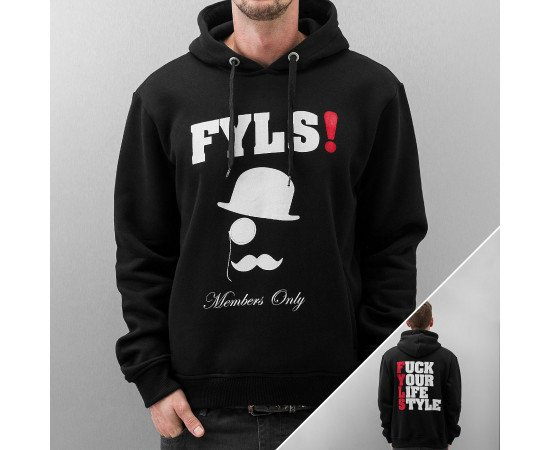 Mikina Just Rhyse Flys Hoody Black