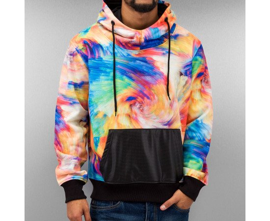 Mikina Just Rhyse Print Hoody Colored