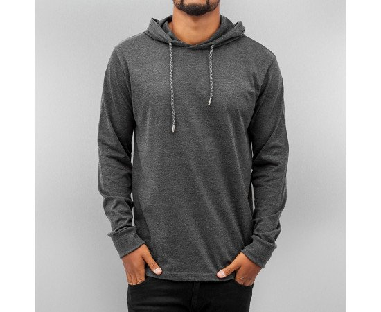 Just Rhyse Thin Blank Hoody Anthracite