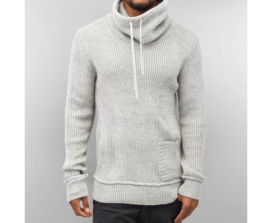 Sveter Just Rhyse Knit Sweater Grey Bone