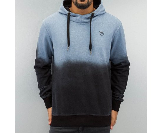 Mikina Just Rhyse Two Tone Hoody Light Blue / Black Spay