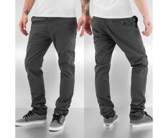 Nohavice Chino Just Rhyse And Friends Baisc Pants Black