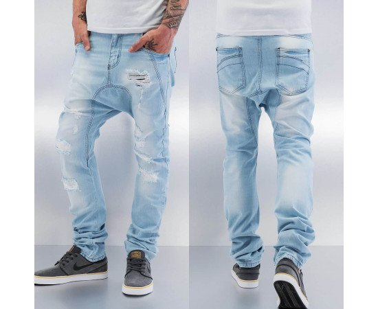 Jeans Just Rhyse Ole Antifit Light Blue Denim
