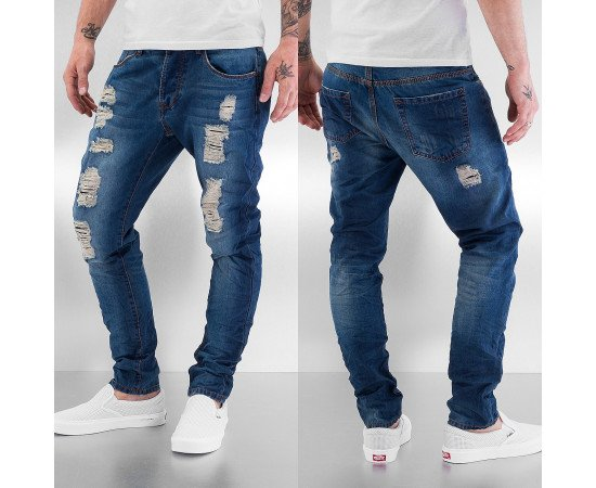 Nohavice Just Rhyse Trion Antifit Jeans Blue