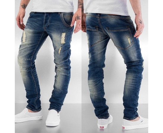Rifle Just Rhyse Berlin Skinny Jeans Blue