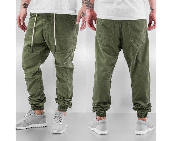 Nohavice Just Rhyse Börge Chino Olive