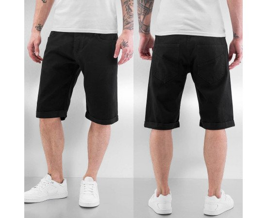 Kraťasy Just Rhyse Blank Jeans Shorts Black