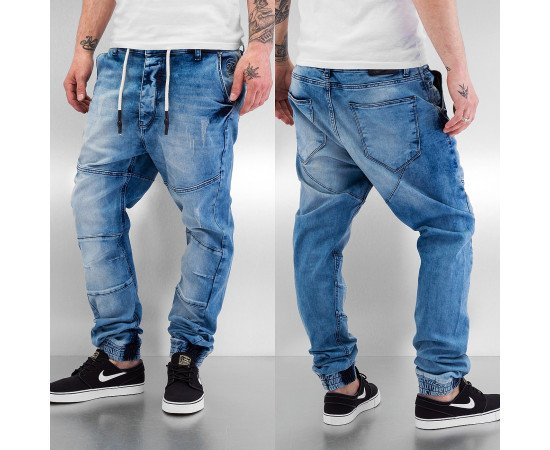 Just Rhyse Jog Straight Fit Jeans Dark Blue