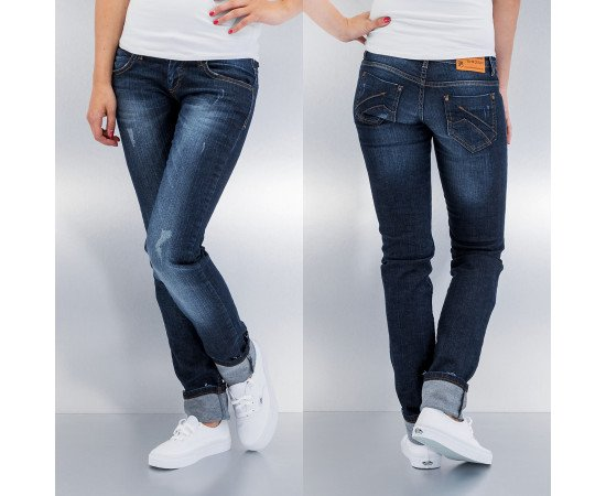 Rifle Just Rhyse Runa Straight Fit Jeans Dark Blue