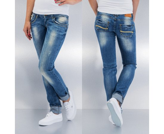 Nohavice Just Rhyse Straight Fit Blue