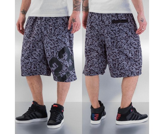 Kraťasy Just Rhyse 23 Shorts Grey Black