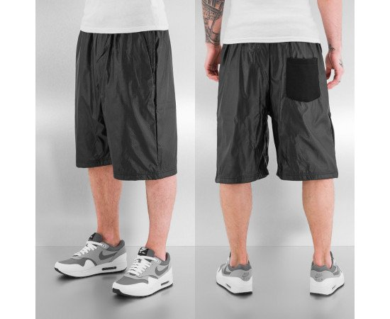 Kraťasy Just Rhyse PU Shorts Black