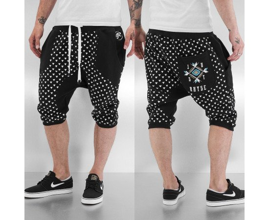 Just Rhyse Triangle Shorts Black