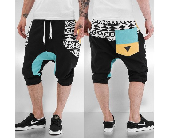 Kraťasy Just Rhyse Aztecs Shorts Black