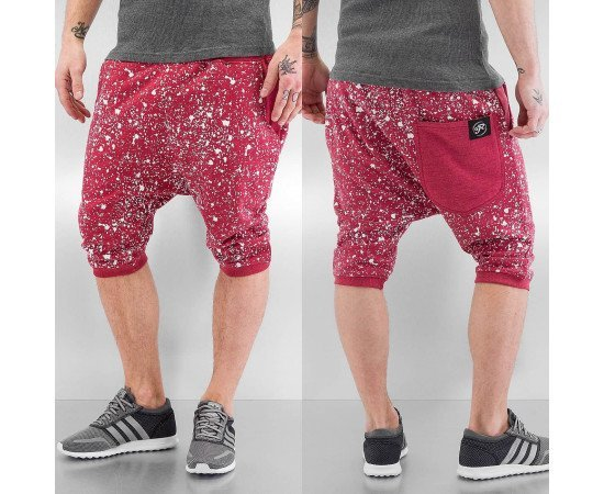 Kraťasy Just Rhyse Rouen Shorts Red