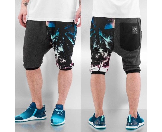 Kraťasy Just Rhyse Sweat Shorts Black