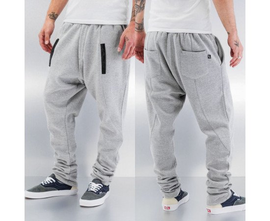 Tepláky Just Rhyse Magon Sweat Pants Grey Melange