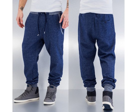 Just Rhyse Beat Men Sweat Pants Indigo Melange