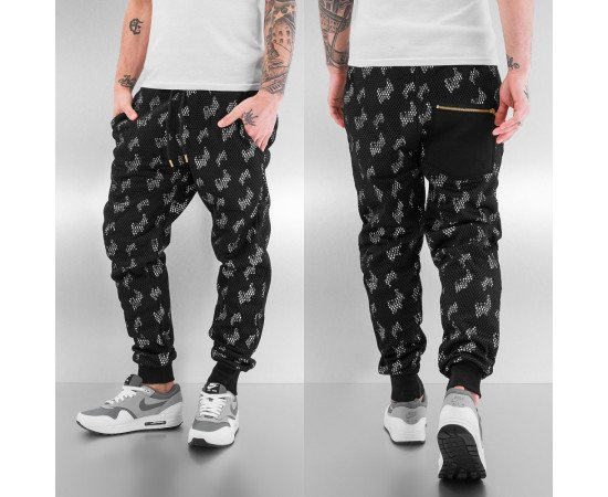 JUST RHYSE HIGH SWEAT PANTS BLACK