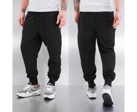 JUST RHYSE SMALL HONEYCOMB SWEAT PANTS BLACK