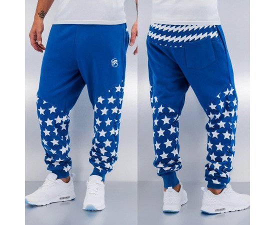 Tepláky Just Rhyse Star Sweat Pants Blue